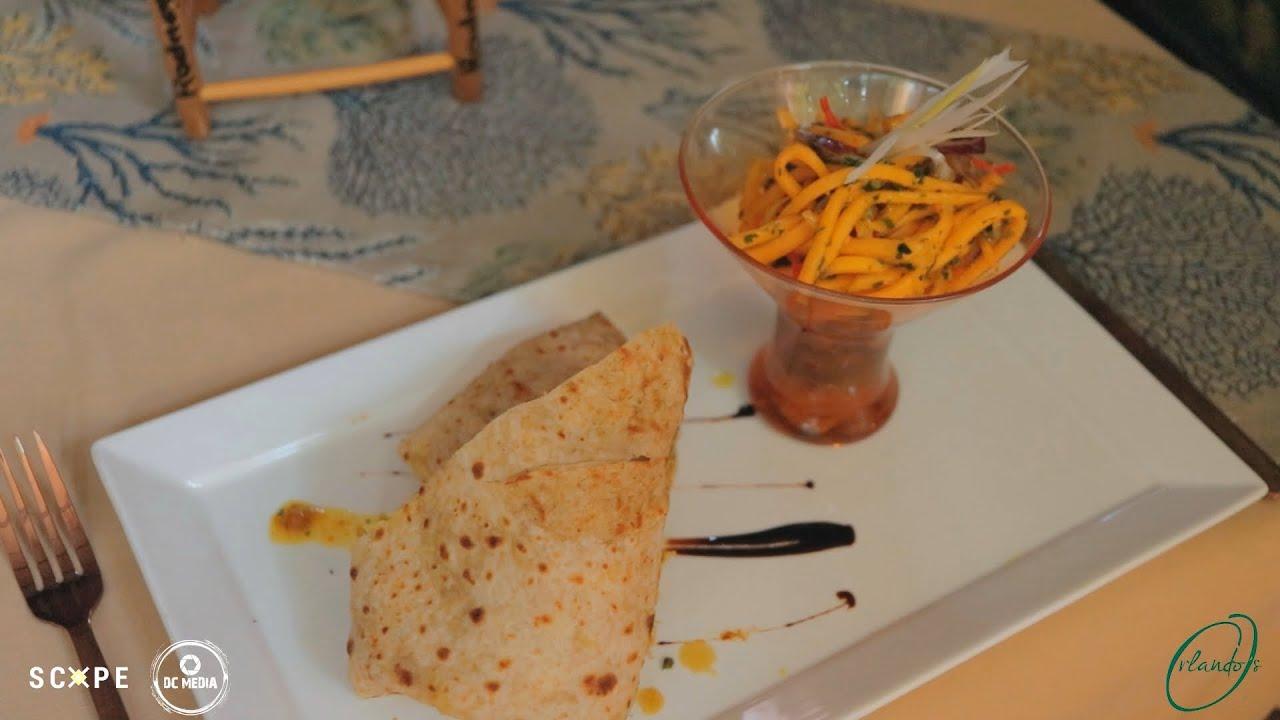 Chef Orlando Satchell's Caribbean Roti Recipe