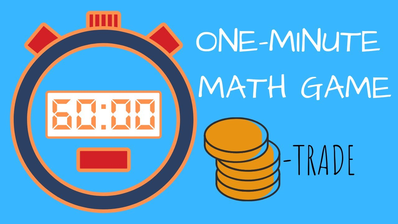 1 minute math game for kids - Coin Trade - YouTube
