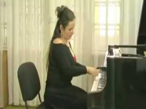 Mezei Carmen interpreting W A Mozart  Piano Sonata No 2 in F Major K 280 Mov III Presto
