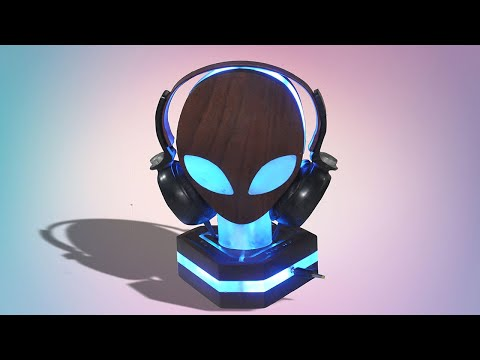 Custom RGB Alienware Headphone Stand