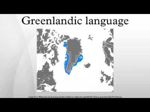 Greenlandic language