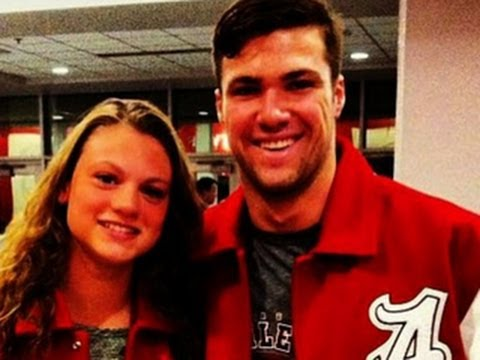 University swimmer died saving girlfriend from Alabama tornado