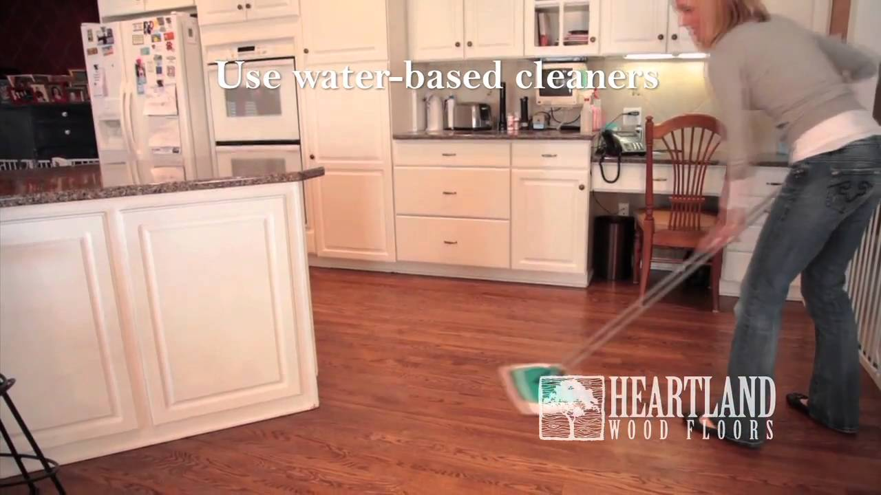 Heartland Wood Floors Maintenance Video - Heartland Wood Floors Maintenance Video - YouTube