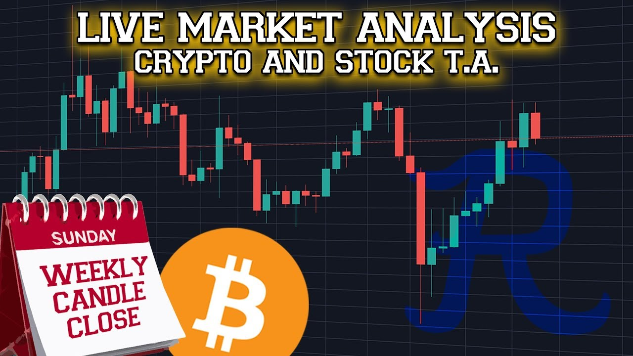 ? BITCOIN LIVE ? Weekly Candle Close BREAKOUT Stream! - Ep.1077 - Crypto Technical Analysis