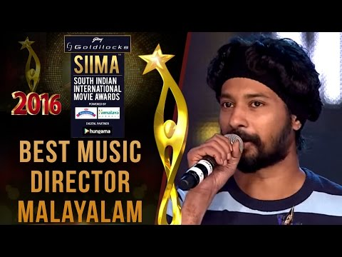 Siima 2016 Best Music Director Malayalam | Rajesh Murugesan - Premam Movie