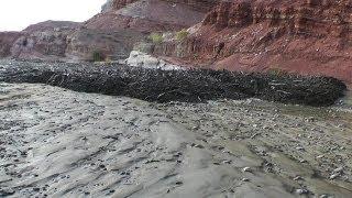 Amazing Flash Flood Debris Flow Southern Utah HD
