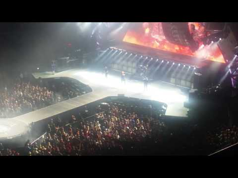 AC/DC Quicken Loans Arena 9/6/16 - Concert Opening & Rock or Bust