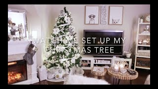 Watch me Set up my  Christmas Tree