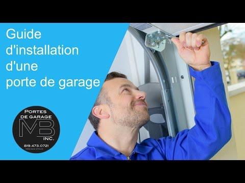 Installation porte de garage | GAREX