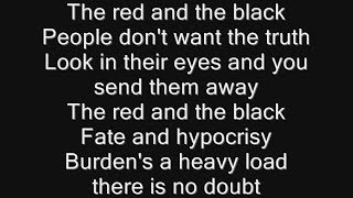 Iron Maiden - The Red and the Black Lyrics