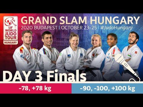 Grand Slam Hungary 2020 - Day 3: Finals (English)