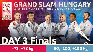 Grand Slam Hungary 2020 - Day 3: Finals (English)