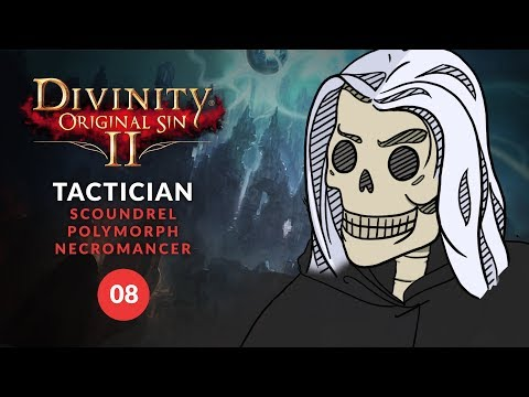 Divinity: Original Sin 2 - COOKING KILLER CROCS! (Tactician Let's Play) 08