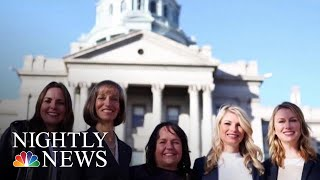 Five Best Friends Elected To Colorado's State Senate | NBC Nightly News