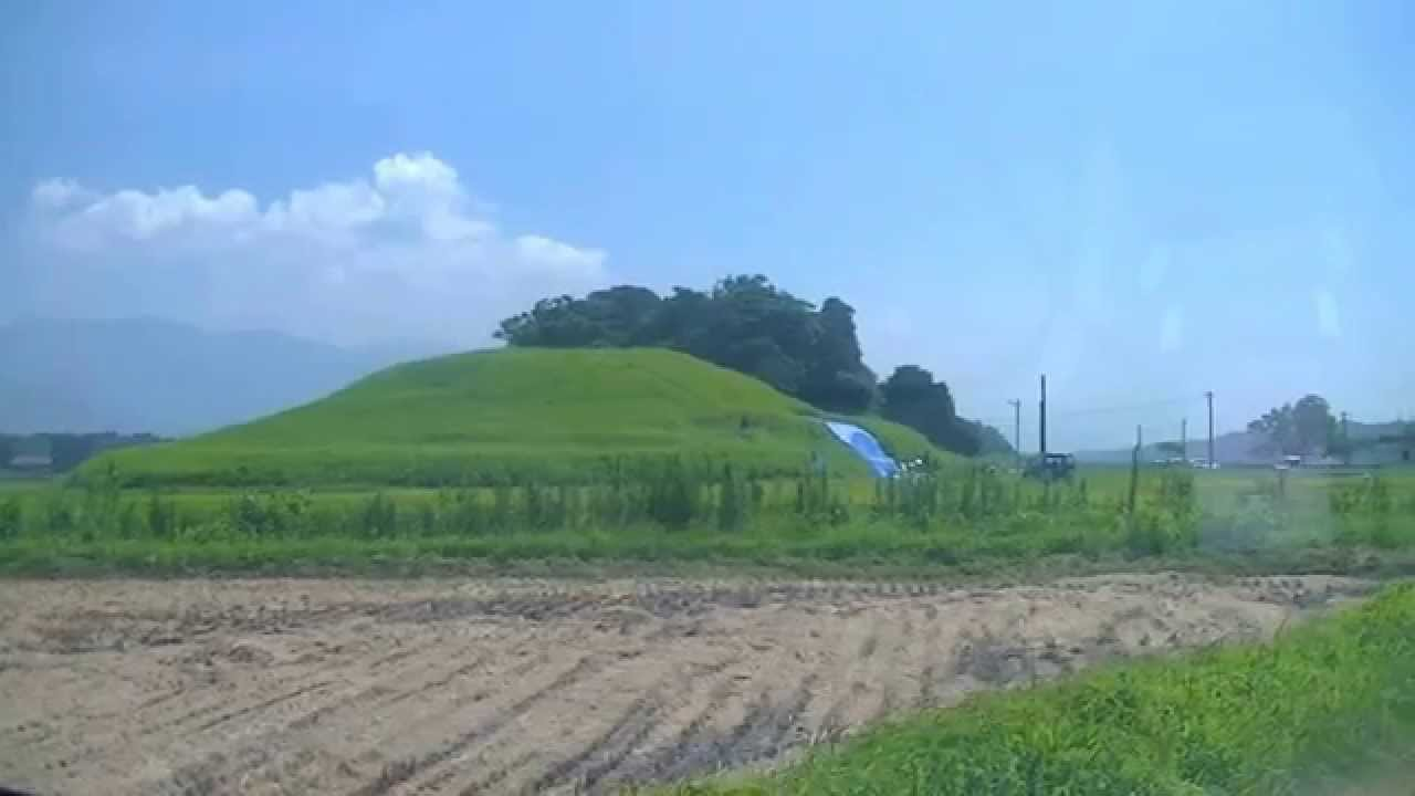 鹿児島県 大崎町 横瀬古墳に行ってみた。Kagoshima-ken I went to Yokose ...
