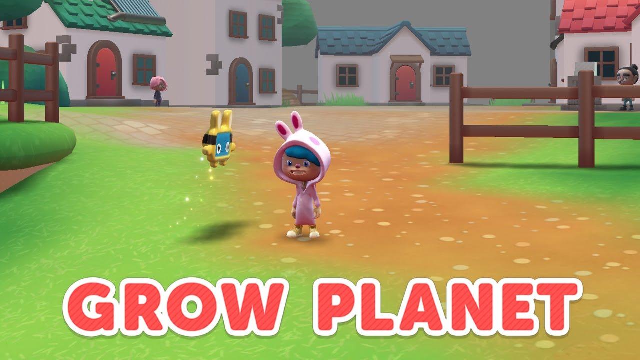 Grow Planet  – Hållbarhetsundervisning i en spelbaserad blandad lärandemiljö