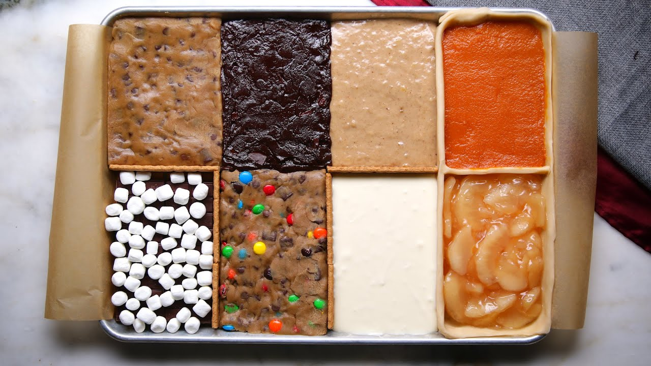 8 Desserts in 1 Sheet Tray