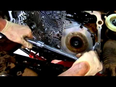 4t65e Transmission Disassembly In Car Part 2 Of 2 Youtube
