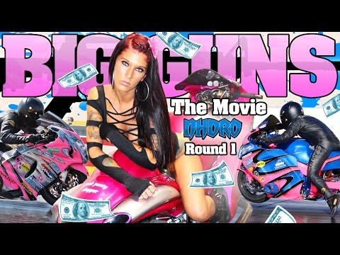"Nhdro 2014 ""Big Guns"" motorcycle drag racing movie"