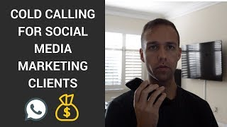 Live Cold Calling For Social Media Marketing Clients (Closed My First Call)