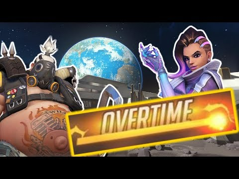 OVERTIME TEAM CLUTCH also a bit of Sombra - Overwatch
