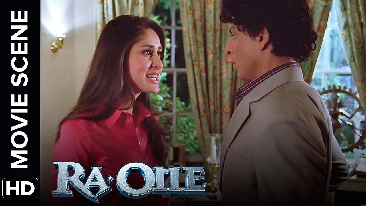 kareena kapoor get abusive with shah rukh khan | ra.one | movie
