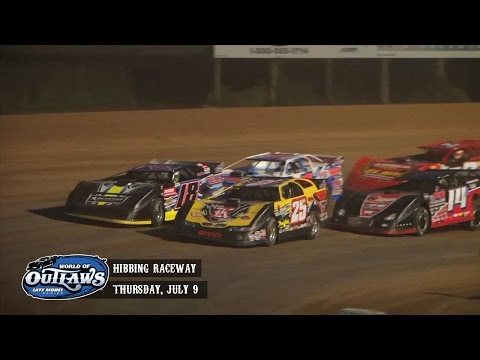 Highlights: World of Outlaws Late Model Series Hibbing Raceway July 9th, 2015