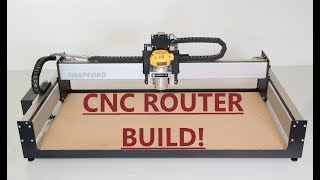 Shapeoko 3 XL CNC Router, Unbox/Assembly