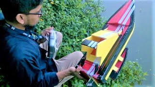 How to Make a Big RC Boat at Home with Brush-less Motor