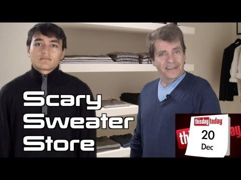 December 20th: Scary Sweater Store: George McGrath & Julian Silver