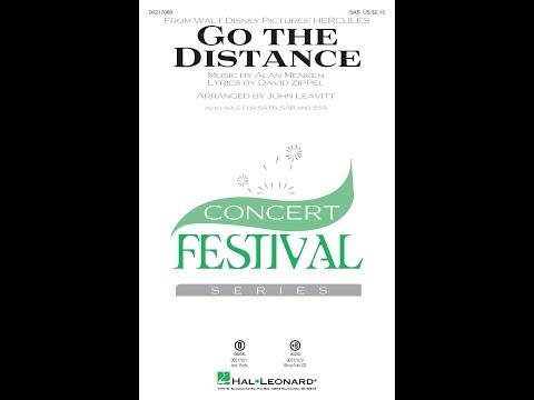 Go the Distance (SAB) - Arranged by John Leavitt