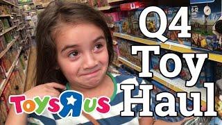 Toys R Us - Q4 Toy Haul ft Luna - Buying Toys to sell on Amazon FBA - Retail Arbitrage