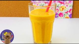 Quick & Healthy Smoothie Recipe! - Indian fig smoothie - smoothie recips with yogurt!
