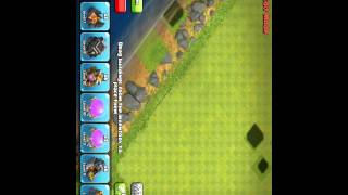Clash of clans building shadow glitch! 2015 update glitch