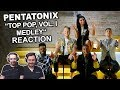 """Pentatonix - TOP POP, VOL. I MEDLEY"" Singers Reaction"