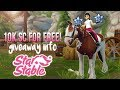 Want 10.000 SC for FREE? [giveaway info] || Star Stable Online