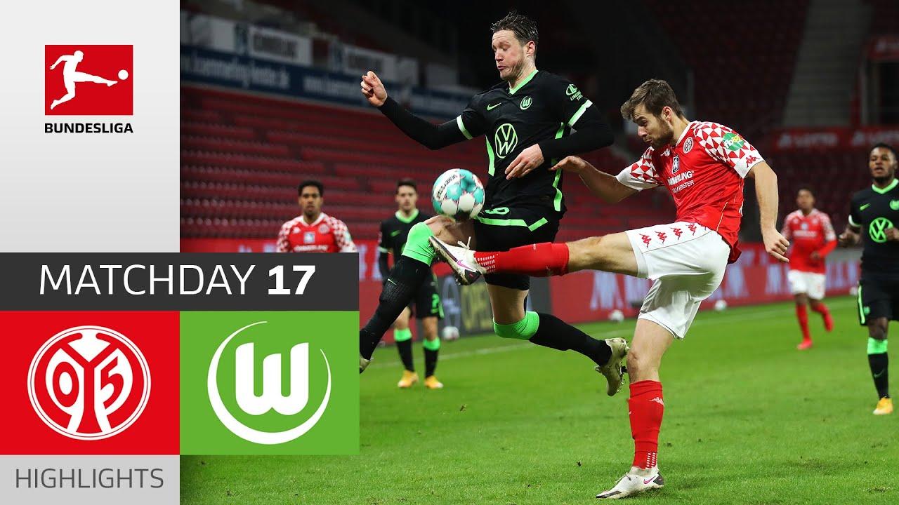 Download 1. FSV Mainz 05 - VfL Wolfsburg | 0-2 | Highlights | Matchday 17 – Bundesliga 2020/21