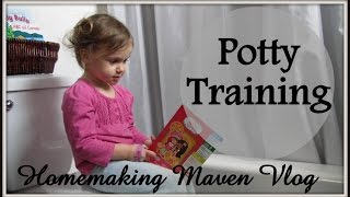 The Start of POTTY TRAINING!! - Monday May 8