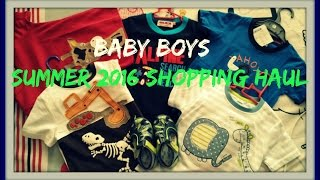 Baby Boys Summer Shopping Haul 2016