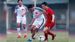 Phó Thủ Tướng Vũ Đức Đam trổ tài sút pen với U23 Việt Nam
