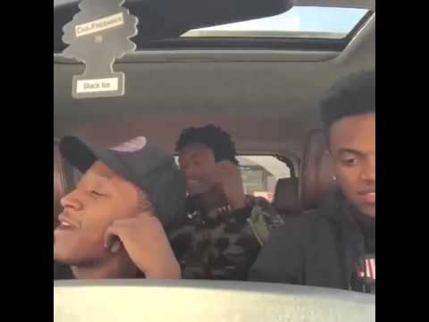 Mhmm freestyle in car: part 8