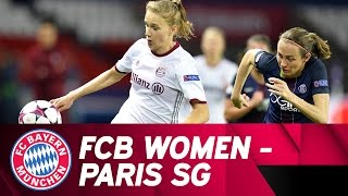 Paris St. Germain - FC Bayern Women 4-0 | Highlights Champions League Quarter Final
