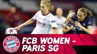 Paris st. germain - fc bayern women 4-0 | highlights champions league quarter final