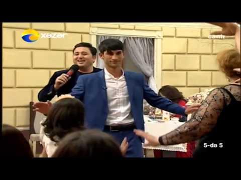 Elcin Huseynov -de 5 Xezer tv-de