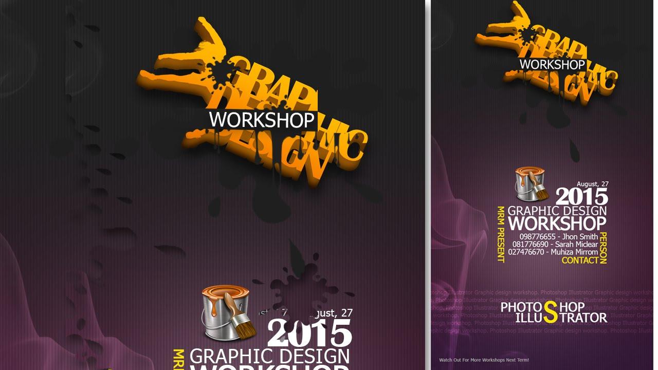 Poster design workshop - Create A Grap Design Workshop Poster In Photoshop