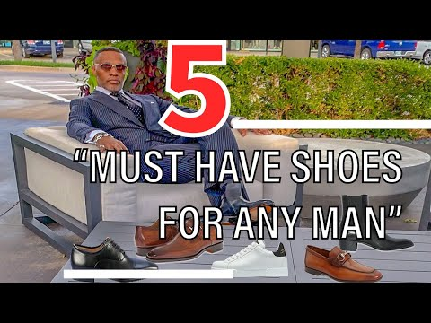 5 Shoes Any Man Should Own