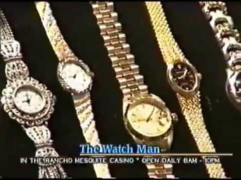Watch Man TV Commercial, Infomercial, Mesquite, Nevada, Rancho Mesquite Casino, 1996