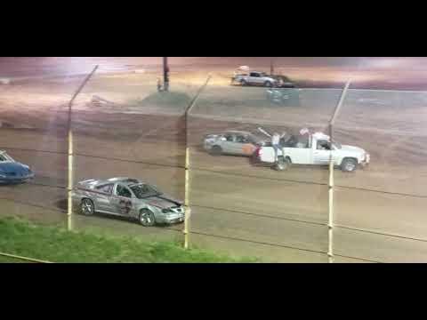 Eco stock racing at 105 speedway 06-01-19. Heat race
