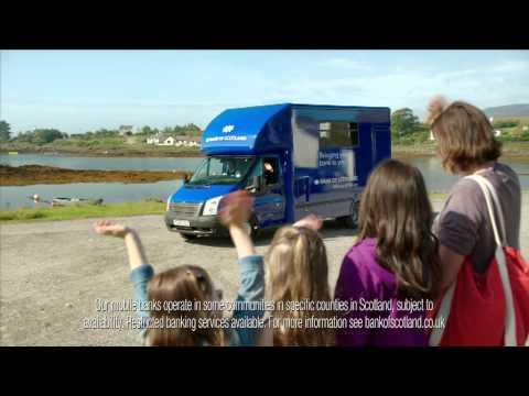 Bank of Scotland advert -- Mobile Branch