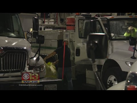 More BGE Crews Head To Florida To Assist In Hurricane Irma Repairs